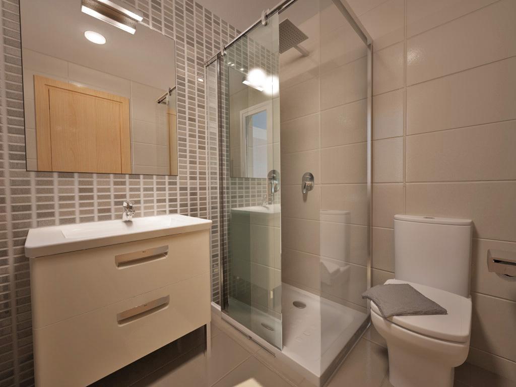 Baño En Ducha De Un Paciente: reforma baño con ducha 460 x 600 jpeg 42kb diseños de baños con