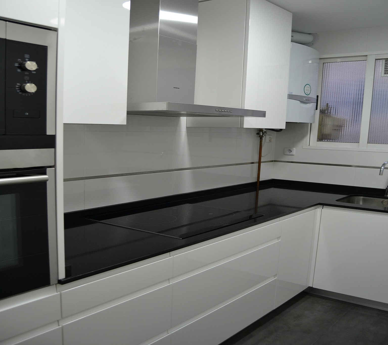 Cocina y ba o reformados en barrio chamart n - Reformas cocinas y banos ...