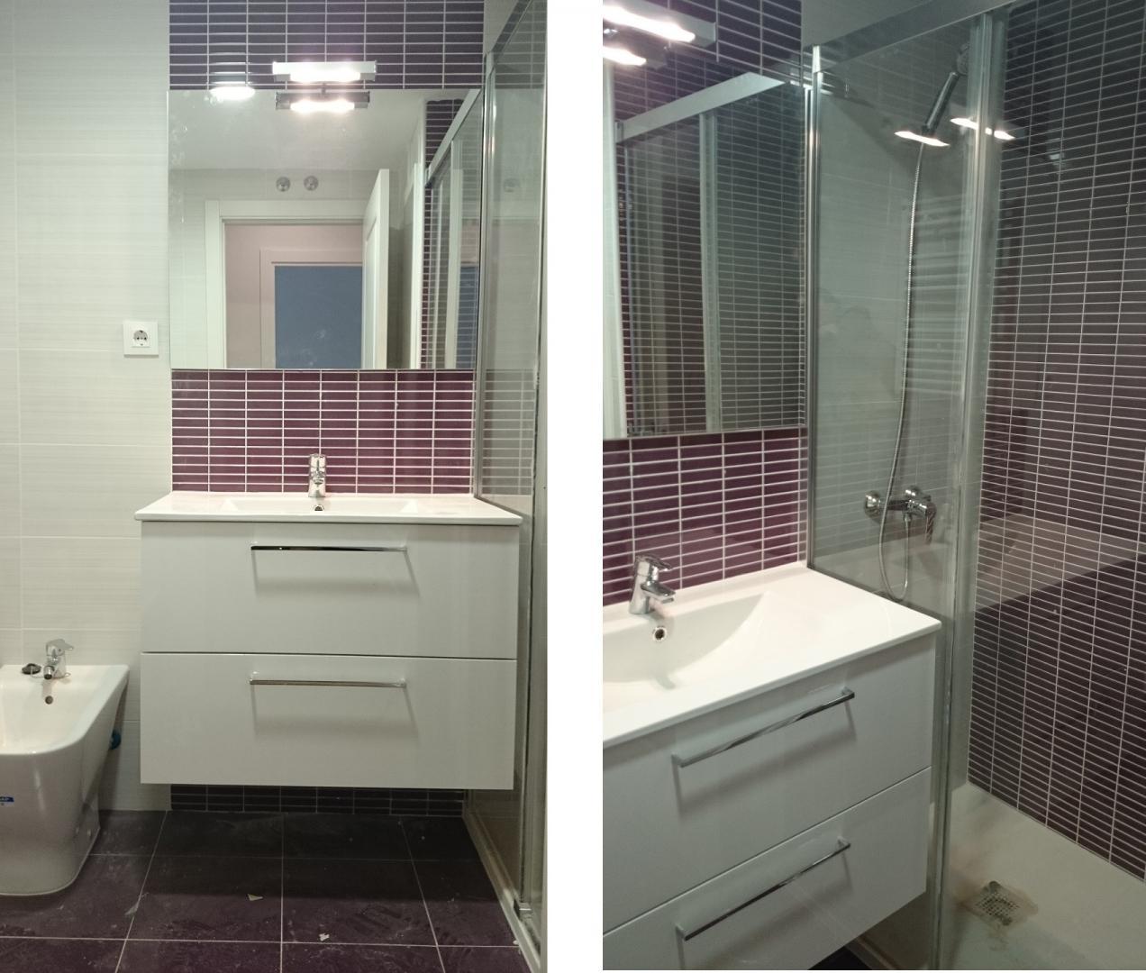 Muebles Cuarto Baño Silestone : Reforma integral piso madrid