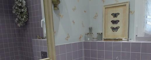 Cuarto de baño romántico