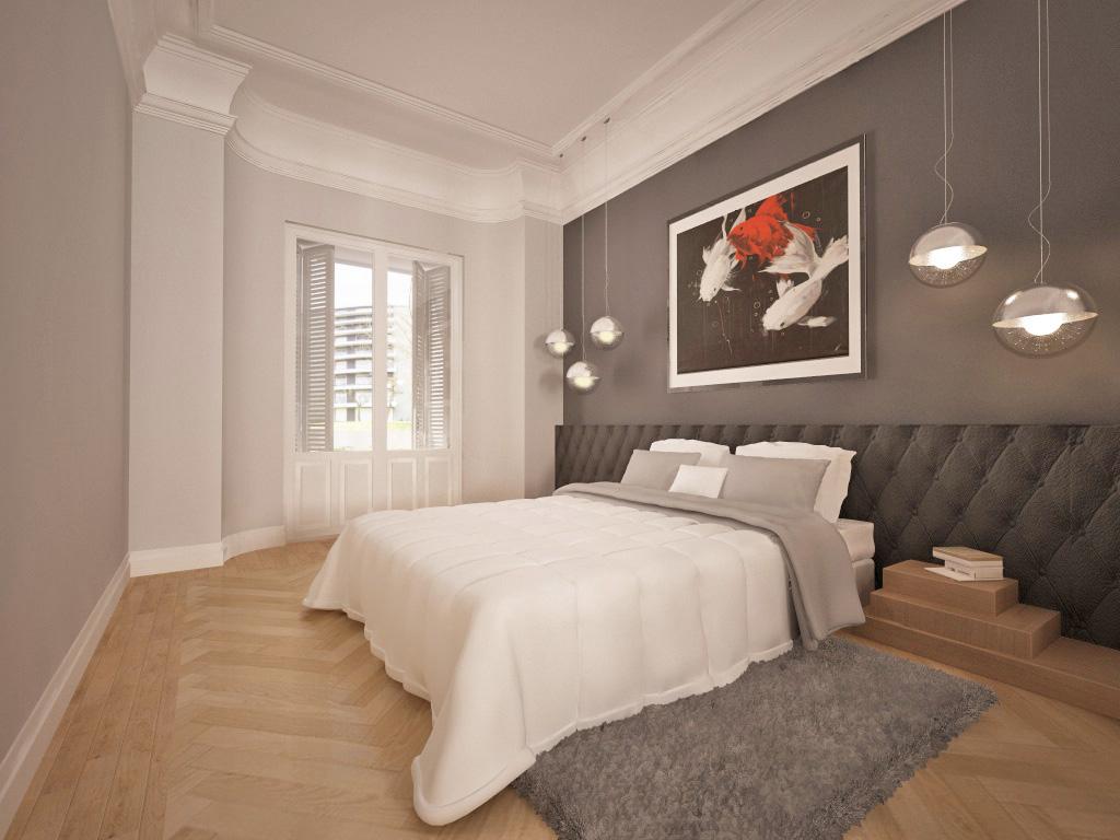 Distribucion Baño Vestidor:Distribucion Dormitorio Con Vestidor Y Bao