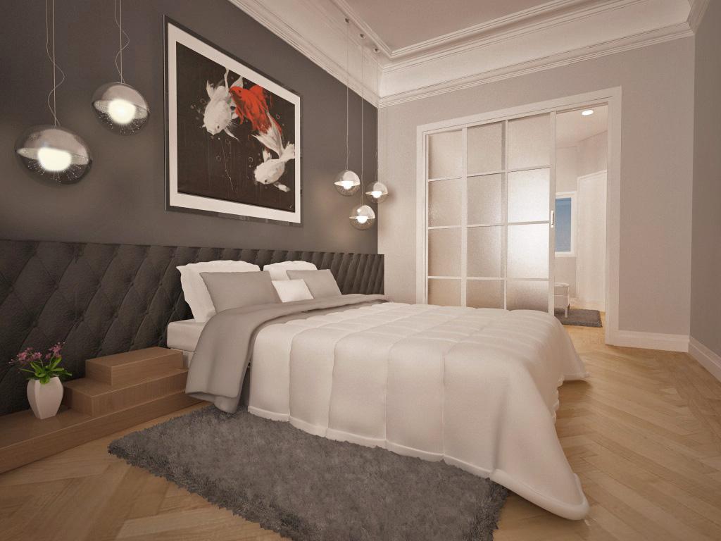 Recreación Reforma Dormitorio Vestidor