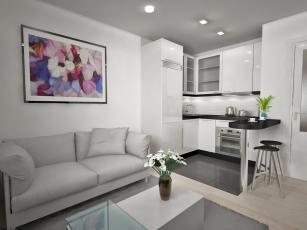 Recreación Reforma Apartamento